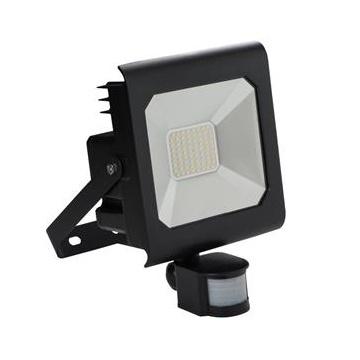 Kanlux ANTRA LED50W-NW-SE B   Reflektor LED SMD s čidlom