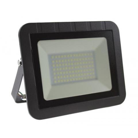 SMD LED reflektor 50W Teplá biela SLIM