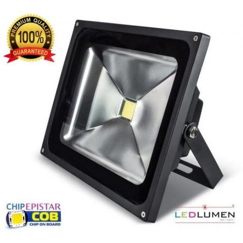 LED reflektor LEDLUMEN 50W CCD Teplá biela