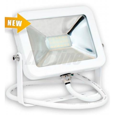 LED reflektor 10W SLIM Denná biela