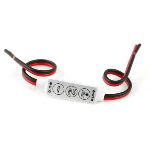Mini stmievač pre LED pásy 6A 72W