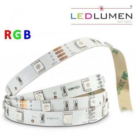 5m bal. RGB LED pásik Ledlumen 30 SMD5050/1m IP20