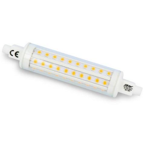 LED žiarovka 10W Teplá biela R7s 118mm 230V