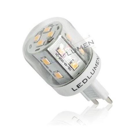 LED žiarovka 16 SMD2835 2.6W Teplá, G9