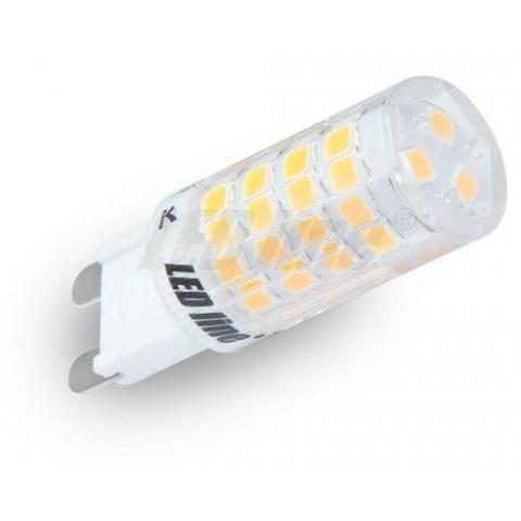 mini LED žiarovka 4W studená biela G9