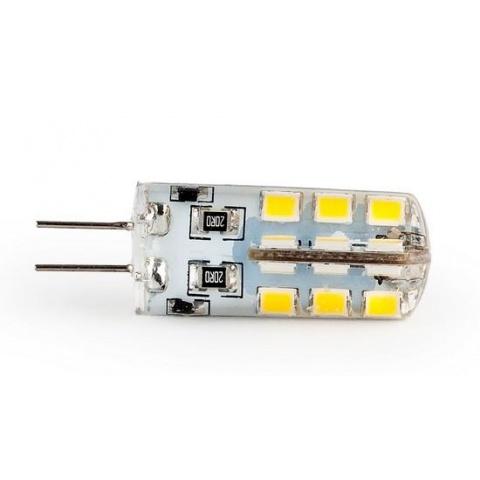 LED žiarovka 3.2W Teplá biela 12V DC SMD2835 G4