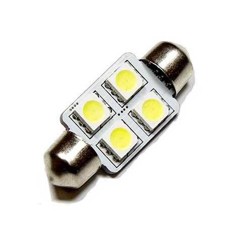 LED auto žiarovka 36mm C5W 4 SMD5050