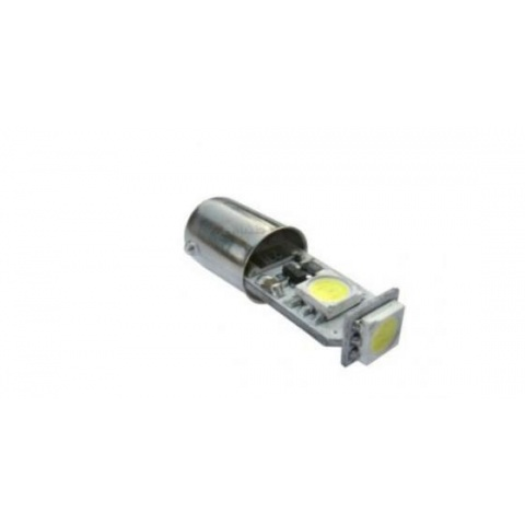 LED auto žiarovka T4W BA9S Canbus 3 SMD5050 1.65W