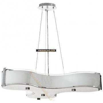 Svietidlo oprawa wisząca MARGHERITA fI550*H1500mm 3xE27 sklo + kov .