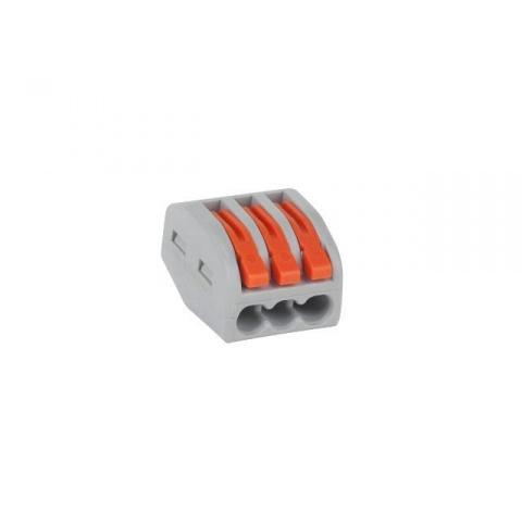 Krabicová svorka s páčkou (WAGO) 3x 0,75-2,5 PCT58103