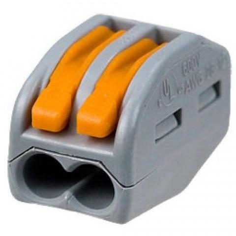 WAGO - spojka 2 x 0,08-2,5mm2 222-412