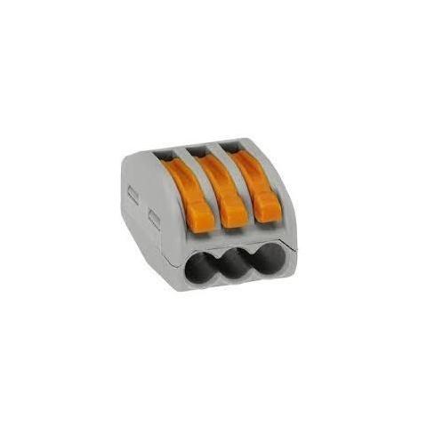 WAGO - spojka 3 x 0,08-2,5mm2 222-413