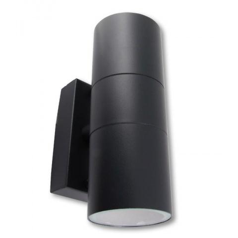 Záhradné LED svietidlo Elor 2xGU10 Grey
