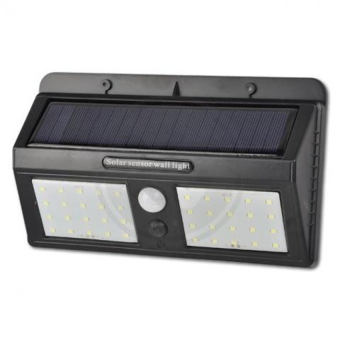 Solárna LED lampa 40xSMD snímač pohybu a súmraku