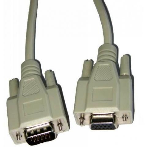 Kábel D-Sub 15PIN kolík - D-Sub 15PIN zásuvka 1,5m
