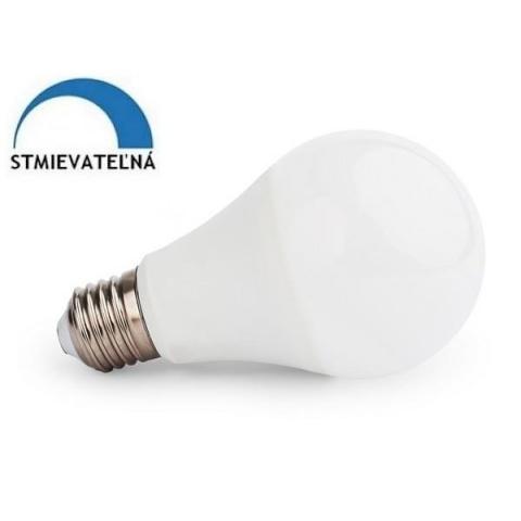 Stmievateľná LED žiarovka 10W Studená biela E27