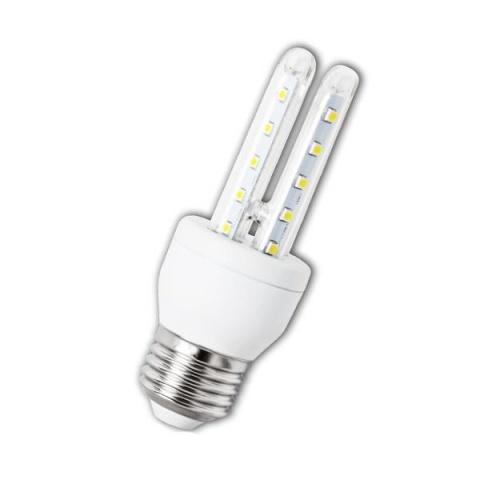 LED žiarovka 6W B5 studená biela E27