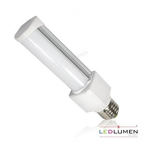 LED žiarovka 8W CCD Studená biela 11 SMD2835 E27