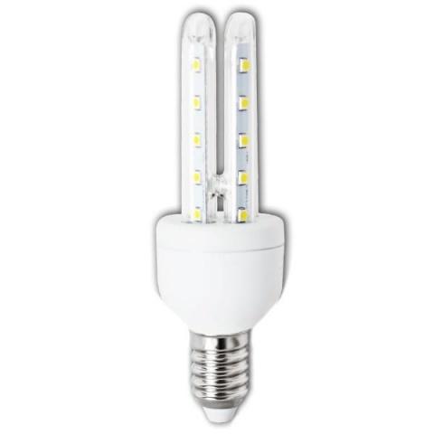 LED žiarovka 6W B5 studená biela E14