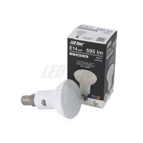 LED žiarovka 16 SMD5630 Teplá 7W, E14
