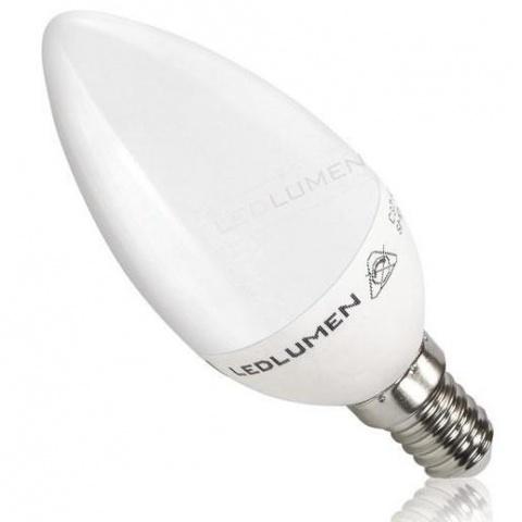 LED žiarovka 3.5W Teplá biela 7 SMD2835 E14