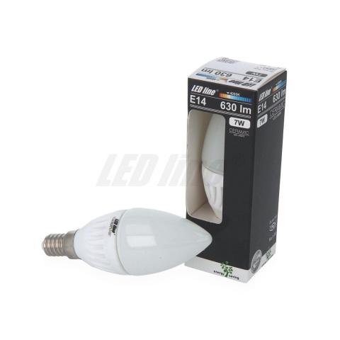 LED žiarovka 7W Neutrálna biela Ceramic E14