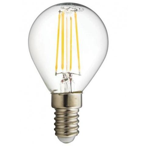 LED žiarovka 4W Teplá biela CCD E14