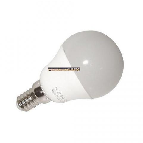 LED žiarovka 6W  CCD studená biela 7 LED SMD 2835 E14