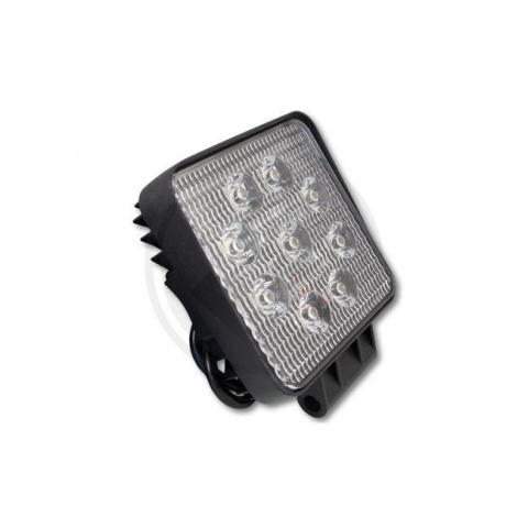 Pracovná lampa 10-30V 27W 9xLED