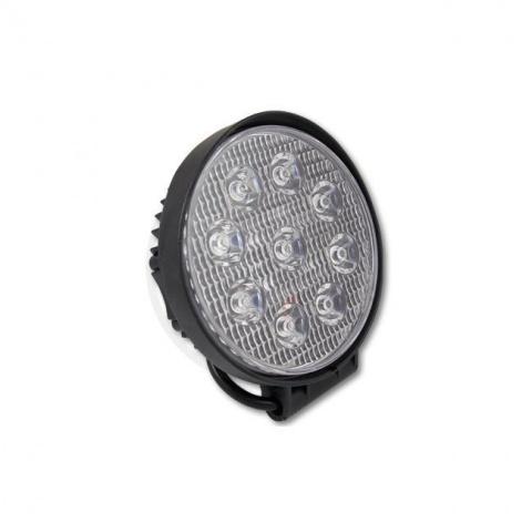 Pracovná lampa 10-30V 27W 9xLED okrúhle