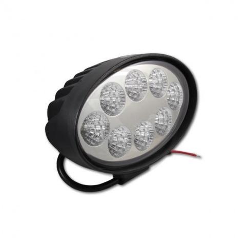 Pracovná lampa 10-30V 24W 8xLED ovál