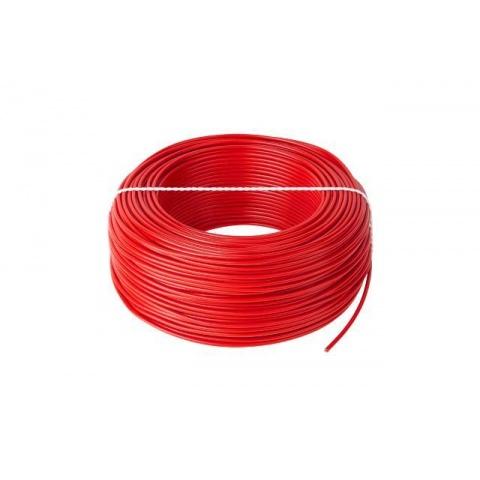 Kábel CYA 1x2,5 červený (H07V-K) lanko (100m)