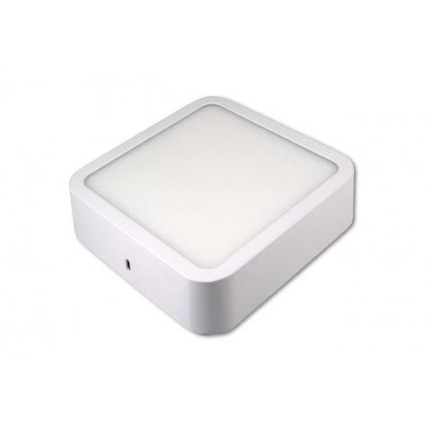 Prisadený LED panel Orto 6W Neutrálna biela, biely rám