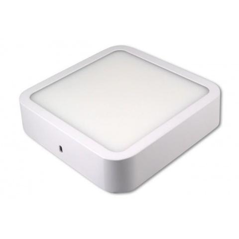Prisadený LED panel Orto 12W Neutrálna biela, biely rám