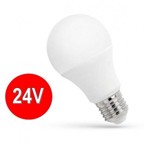 24V E27 LED žiarovka 13W Studená biela