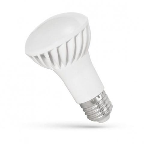LED žiarovka 8W studená biela E27