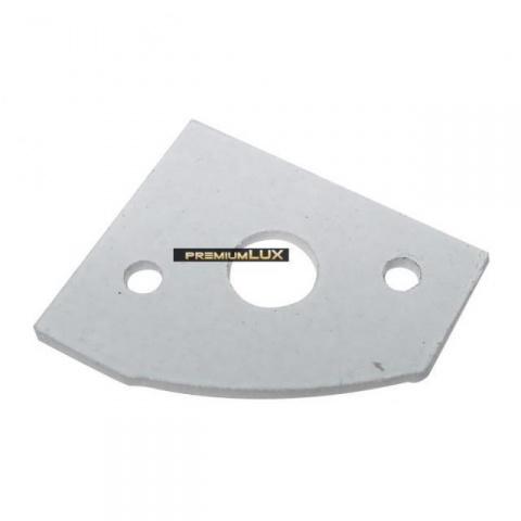 Krytka pre profil MiniLUX rohový, biela