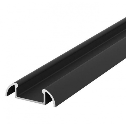 2m Hliníkový Profil pro LED pásky BRG2 čierny