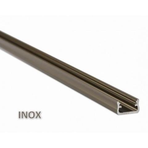 1m hliníkový profil LUMI A inox