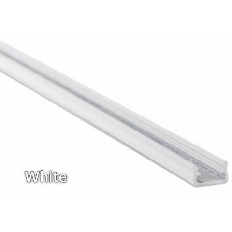 2m hliníkový profil LUMI A biely