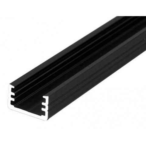 2m profil SLIM čierny