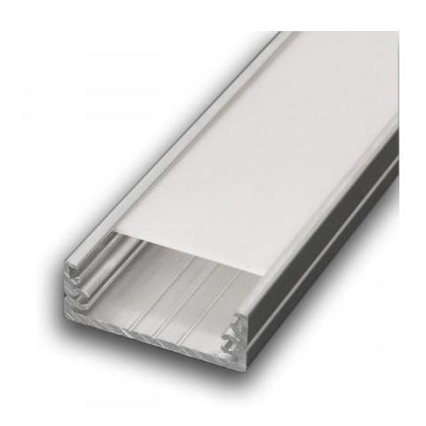 Hliníkový profil LED WIDE - 1m