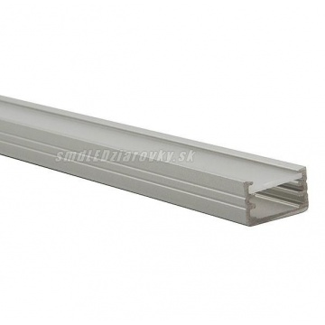 Hliníkový profil pre LED pásy SLIM - 1m