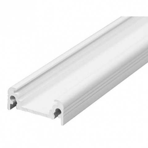 2m biely hliníkový profil pre LED pásy SURFACE