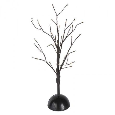 LED stromček, 3×AA, teplá biela, časovač
