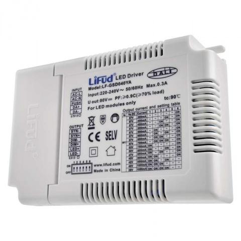 Multifunkčný externý driver pre LED panely