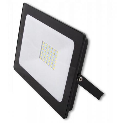 LED reflektor 30W Vega Neutrálna biela - Black