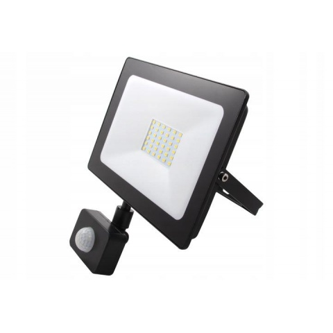 LED reflektor Vega 30W Neutrálna biela + senzor pohybu