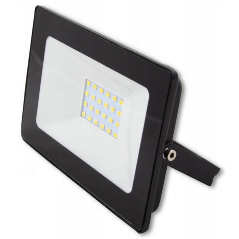 LED reflektor 20W Vega Neutrálna biela - Black