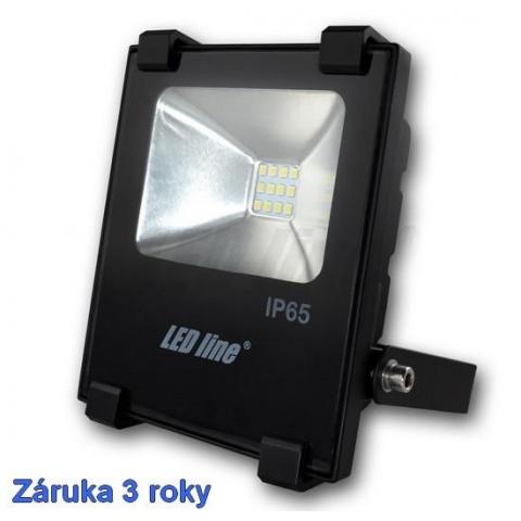 LED reflektor 10W SLIM Neutrálna biela, záruka 3 roky